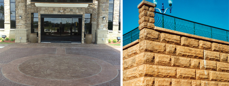When It Comes To Appearance, Concrete Is A More Flexible Material Than City  Sidewalks Might Lead One To Believe. U201cThe Start Of Decorative Concrete Was  ...