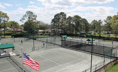 Timber Pines Homeowners Association tennis courts