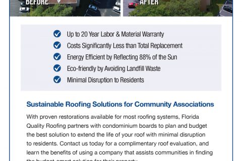 Florida Quality Roofing — 2/3 Page Vertical ad