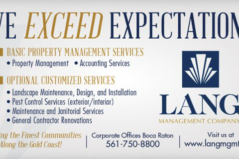 Lang Management — 1/6 Page Horizontal ad