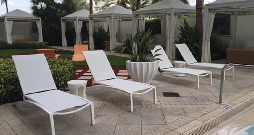 whenever outdoor patio furniture becomes worn or outdated looking people usually assume that they have one option which is to buy new furniture
