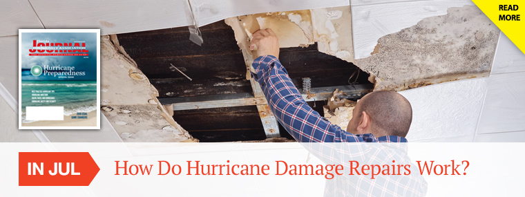 How Do Hurricane Damage Repairs Work?