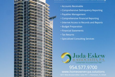 Juda Eskew & Associates — 1/2 Page Horizontal ad
